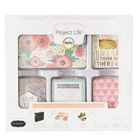 Cotage Living Kit para fotos de Project Life