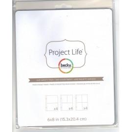 """Sobres de Project Life. Tamaño 6x8"""""""