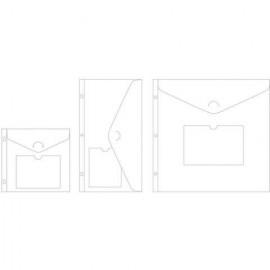 Sobres de almacenamiento, tamaños variados de Project Life