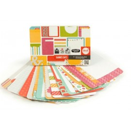 "Journal Card ""Banner Days"" de We R Memory. Tamaño 6X4"""