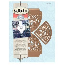 Troquel Arched Elegance Pocket de Spellbinders