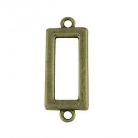 Uniones rectangulares en color bronce