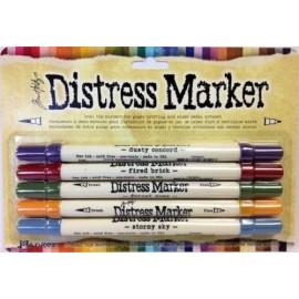 Paquete de 5 marcadores Distress.