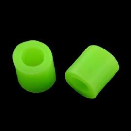 Abalorios de calor en color LawnGreen de 5 mm