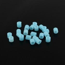 Abalorios de calor en color SkylBlue de 5 mm