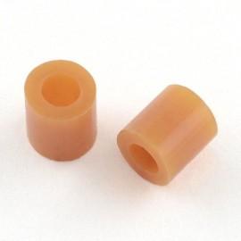 Paquete de mini abalorios de calor 3x2.6 mm Camel