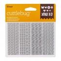 "Troquel Metálico ""Feathers Troquel Metálico Sprintime Confetti de Cuttlebug"