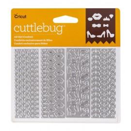 Troquel Metálico All Girl Confetti de Cuttlebug