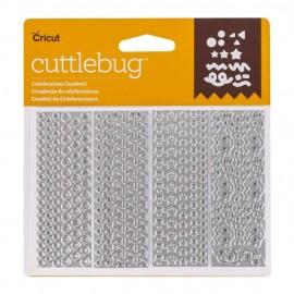 Troquel Metálico Celebration Confetti de Cuttlebug