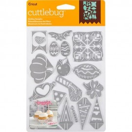 Troquel Holiday Sampler de Cuttlebug