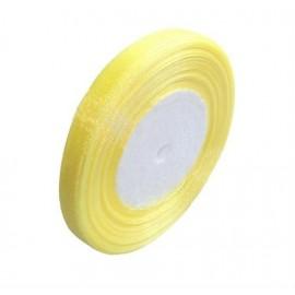Cinta de Organza Amarillo de 10 mm
