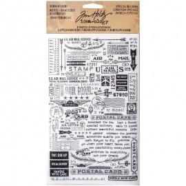Paquete Remnant Rubs de Idea-ology de Tim holtz