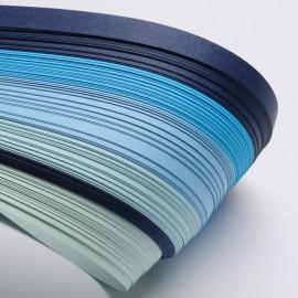 Papel para filigrana en tonos azules de 5 mm