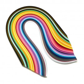 Papel para filigrana 50 colores de 10 mm