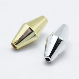 Diamantes acrilicos Plateados y Dorados