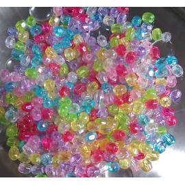 Cristales en colores variados nacarados. Tamaño 3,5x3 mm