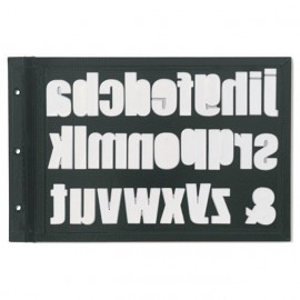 Tabla magnetica para organizar troqueles de Life Crafts.