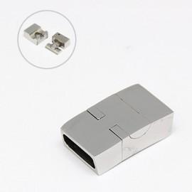Cierre magnetico de Acero Inoxidable 304. Tamaño23x13x7mm