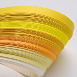 Papel para filigrana en tonos amarillos de 3 mm