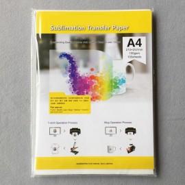 Papel de subliminación para impresora inyectada, Tamaño A4