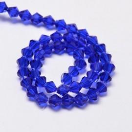 Cristales Azul Medio de 6 mm. Grado AA