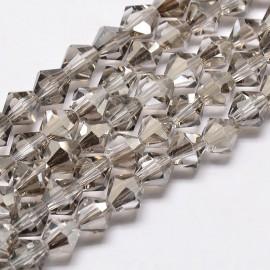 Cristales Gris Claro de 6 mm. Grado AA