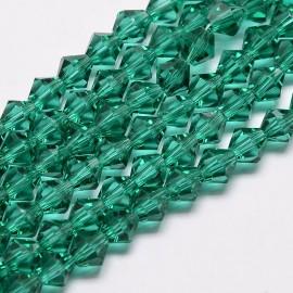 Cristales Verde Oscuro de 6 mm. Grado AA