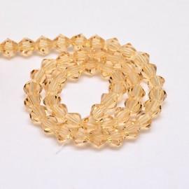 Cristales Amarillos de 6 mm. Grado AA
