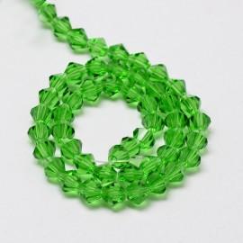 Cristales Verde de 4mm. Grado AA
