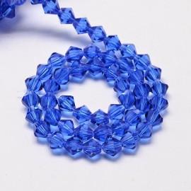 Cristales Azul de 4mm. Grado AA