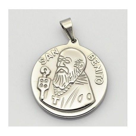 aad488d30f1 Dije de Medalla de San Benito Dorado