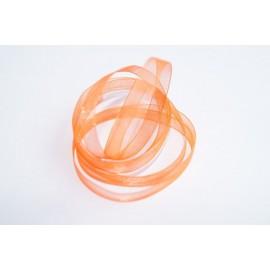 Cinta de Organza Naranja de 10 mm