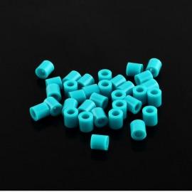 Abalorios de calor en color Turqueza de 5 mm