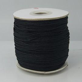 Cordón de nylon negro de 1,5 mm