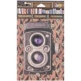 Embellecedores Camara antigua con textura de 7 gypsies Arquitextures