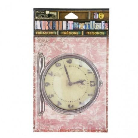 Embellecedores Reloj antiguo con textura de 7 gypsies Arquitextures
