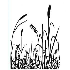 "Folder Embosador ""Grass""de Darice"