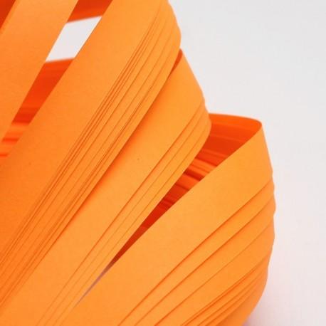 Papel para filigrana en color Naranja de 10 mm