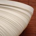 Papel para filigrana en color Blanco Antiguo de 10 mm