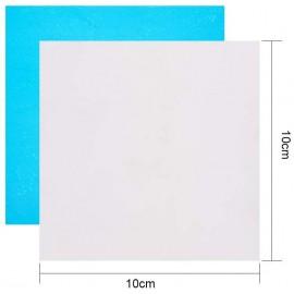 Láminas de aluminio, Tamaño: 10x10 cms