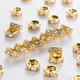 Separadores imitación cristal Grado B, dorado
