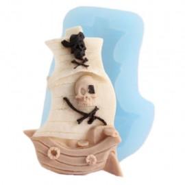 Molde de Silicone de Barco Pirata