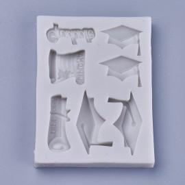 Molde de silicone de Graduacion