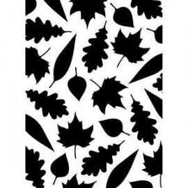 "Folder Embosador ""Leaves"" de Darice"