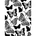 """Folder Embosador """"Butterflies"""" de Darice"""