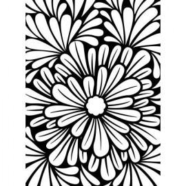 """Folder Embosador """"Bold Floral """" de Darice"""