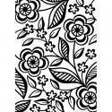 "Folder Embosador "" Dainty Flower"" de Darice"