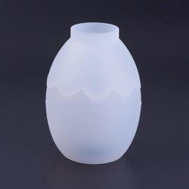 Molde de frasco forma de Huevo 3D para trabajar con resina