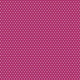 """Paquete de cartulinas puntos blancos sobre rosado de Core dinations, 12x12"""""""
