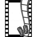 "Folder Embosador ""Movie Theme"" de Darice"